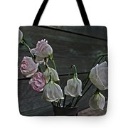 Dying Grieving Flowers Tote Bag