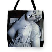 Dying Lucretia  Tote Bag