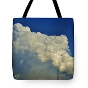 Dying Texas Supercell Tote Bag