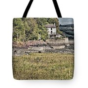 Dylan Thomas Boathouse At Laugharne 2 Tote Bag