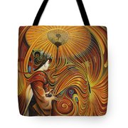 Dynamic Oriental Tote Bag
