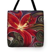Dynamic Reds Tote Bag