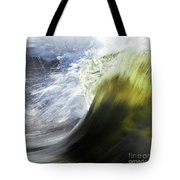 Dynamic River Wave Tote Bag
