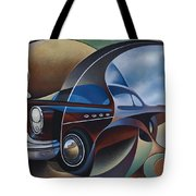 Dynamic Route 66 Tote Bag