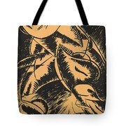 Dynamism Of A Human Body Tote Bag