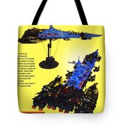Dynonochus Flyer Back Tote Bag