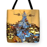 Dynonochus Maincastle Shot Tote Bag