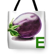 E Art Alphabet For Kids Room Tote Bag