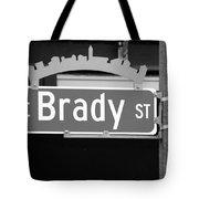 E Brady St Tote Bag