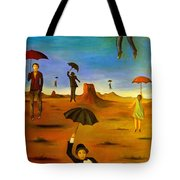 Spirit Of The Flying Umbrellas Edit 4 Tote Bag
