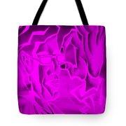 E Vincent Negative Purple Tote Bag