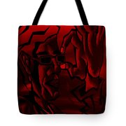 E Vincent Red Tote Bag