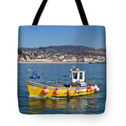 E201 Coming Into Harbour Tote Bag