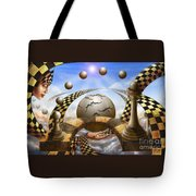 Each Pawn Dreams To Become A Queen Tote Bag