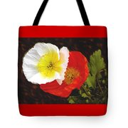 Eager Poppies Tote Bag