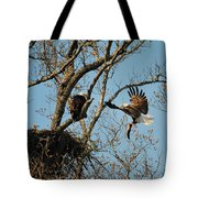 Eagle And The Fish 2 Tote Bag