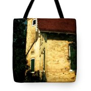 Eagle Bluff Light Tote Bag by Michelle Calkins