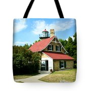 Eagle Bluff Lighthouse Tote Bag