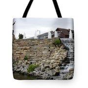 Eagle Center Waterfalls Tote Bag