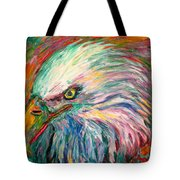 Eagle Fire Tote Bag