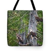 Eagle Gang Tote Bag