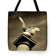 Eagle In Stone Tote Bag