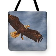 Eagle In The Sky Tote Bag
