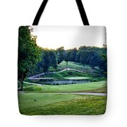 Eagle Knoll - Hole Fourteen From The Tees Tote Bag