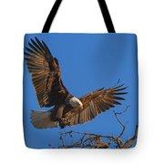 Eagle Landing Tote Bag