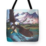 Eagle Oregon Lake Tote Bag