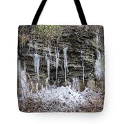 Eagle Rock Icicles 2 Tote Bag