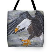 Eagle Study 2 Tote Bag