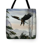 Eagle Wilderness Tote Bag