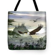 Eagles Flight Tote Bag