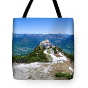Eagle's Nest Tote Bag by Dave Bowman