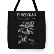 Eames Chair Patent 4 Tote Bag