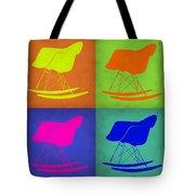 Eames Rocking Chair Pop Art 1 Tote Bag