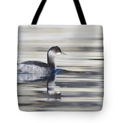 Eared Grebe Tote Bag