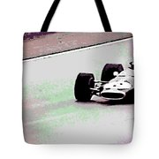 Early 60's Fun In A Formula 1 Race Tote Bag