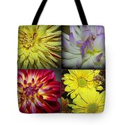 Early Autumn Blossoms Tote Bag