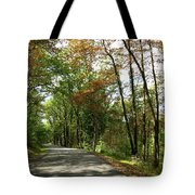 Early Autumn Drive Tote Bag