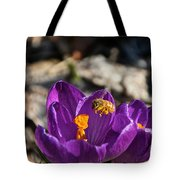 Early Bee Tote Bag