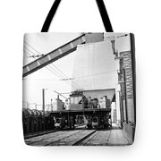 Early Charge Car Tote Bag