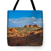Early Evening Light At Coyote Buttes Tote Bag