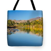 Early Fall On The Payette Tote Bag