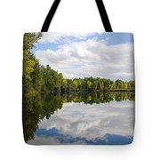 Early Fall Reflections Tote Bag