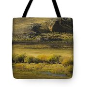 Early Fall Sunrise Tote Bag