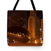 Early Hours In Chicago Tote Bag