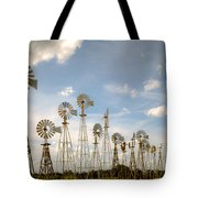 Early Model Wind Farm Tote Bag