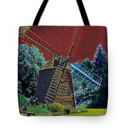 Early Morning At The Mill Tote Bag